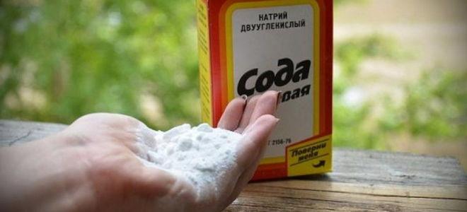 Лечение грибка ногтей пищевой содой