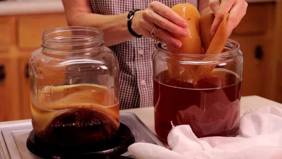 Чайный гриб против грибка ногтей